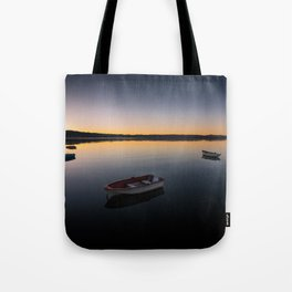 Sunrise over Knysna Lagoon in Western Cape, South Africa Tote Bag