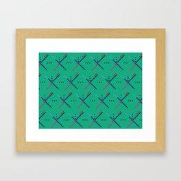PDX carpet Framed Art Print