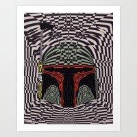 boba Art Prints featuring Boba Effect by Fabian Gonzalez