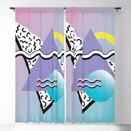 Memphis pattern 77 - 80s / 90s Retro Blackout Curtain