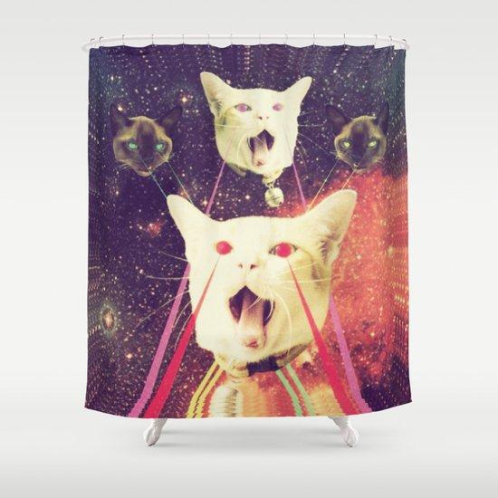 galactic Cats Saga 4 Shower Curtain