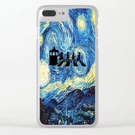The Doctors Walking Of Starry Night Clear iPhone Case