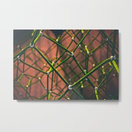 Chemical Connections (Color) Metal Print
