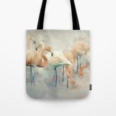 Flamingo Fantasy Tote Bag