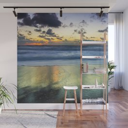Sea storm approaches Wall Mural