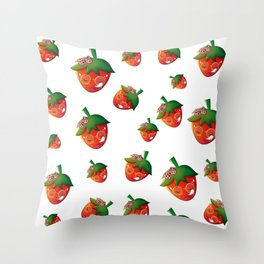 Berry-Berry Pattern Throw Pillow