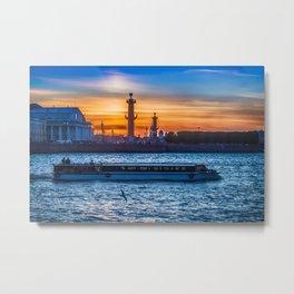 Saint Petersburg Metal Print