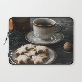 Cofee and Cookies III Laptop Sleeve