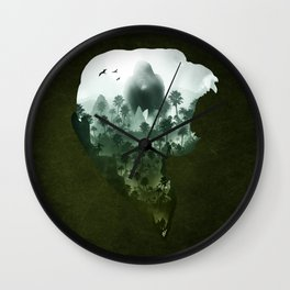 Down with the King Wall Clock