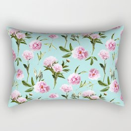 Peonies In Her Dreams Rectangular Pillow