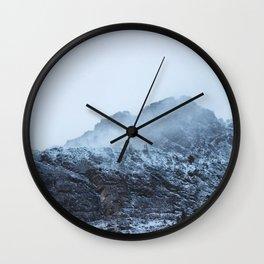 glacier ntl park part 3 Wall Clock