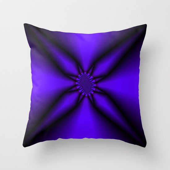 Somewhere in the Middle Throw Pillow