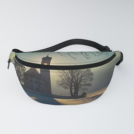 Saint Coloman Church In Germany Fanny Pack