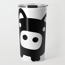 Pigs Will Fly (b&w) Travel Mug