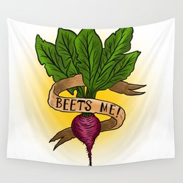 Beets Me! Wall Tapestry