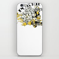 poker iPhone & iPod Skins featuring Poker face by Tshirt-Factory
