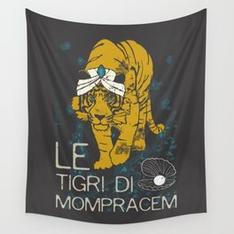 Books Collection: Sandokan, The Tigers of Mompracem Wall Tapestry