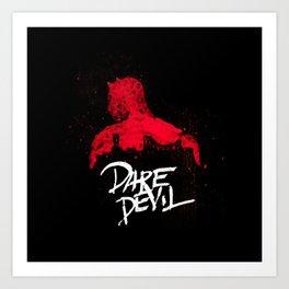 Bloody Devil  Poster Art Print