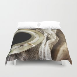 But First - Coffee! Duvet Cover