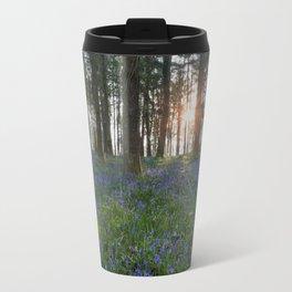 Sunlit Bluebell Woods Travel Mug