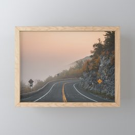 Route 52 Sunrise Framed Mini Art Print
