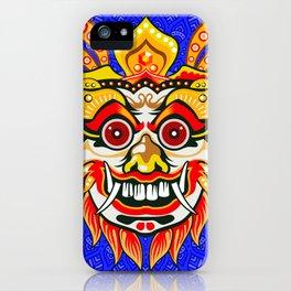 Balinese mask / Bali / Barong iPhone Case