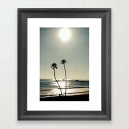 San Clemente Sunset Framed Art Print