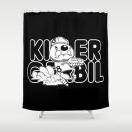 Air Keirin Shower Curtain