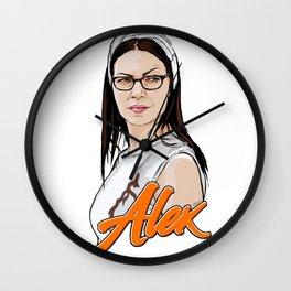 Queen Alex Vause Wall Clock