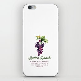 Butler Ranch iPhone Skin