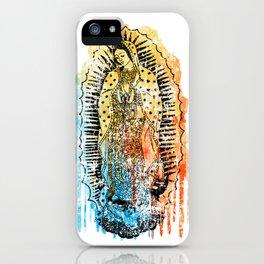 Virgen de Guadalupe, Virgin Mary iPhone Case