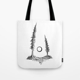 Breakfast Sketch Tote Bag