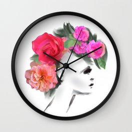Belle Mohican Wall Clock