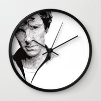benedict Wall Clocks featuring Benedict by Rik Reimert