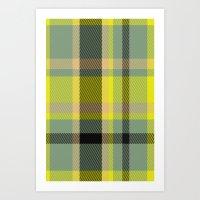 yellow pattern Art Prints featuring Pattern Yellow by Fine2art