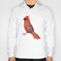 cardinal Hoodies featuring Cardinal by Freeminds