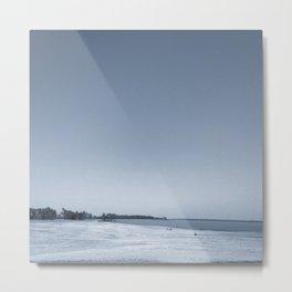 #107Photo #118 #Cyanotype #Landscape Metal Print