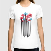 tulip T-shirts featuring Tulip by GabrieleCigna