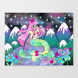 Mystic Mermaid Canvas Print