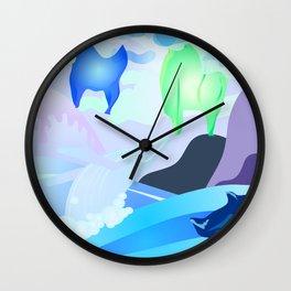 Plastic Rain Wall Clock