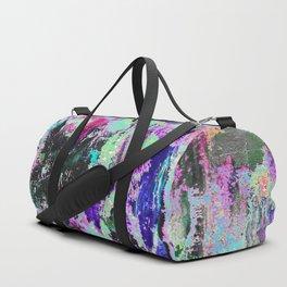 Bright Paint Peeling Duffle Bag