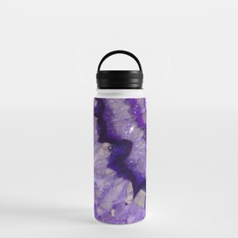 Purple Crystal Water Bottle