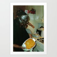 mf doom Art Prints featuring MF Doom  by Xsimplyessx