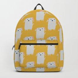 Cute sweet Dog Yellow Backpack