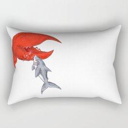 Great White Lobstah Lovah Rectangular Pillow