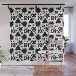 Rugged Geometrix Wall Mural