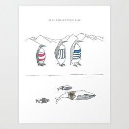 fashion collection Art Print