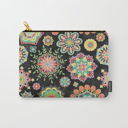 Folky Flora Carry-All Pouch