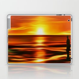 Gormley at Sunset Laptop & iPad Skin