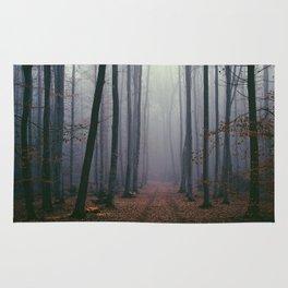 Into the fog Rug